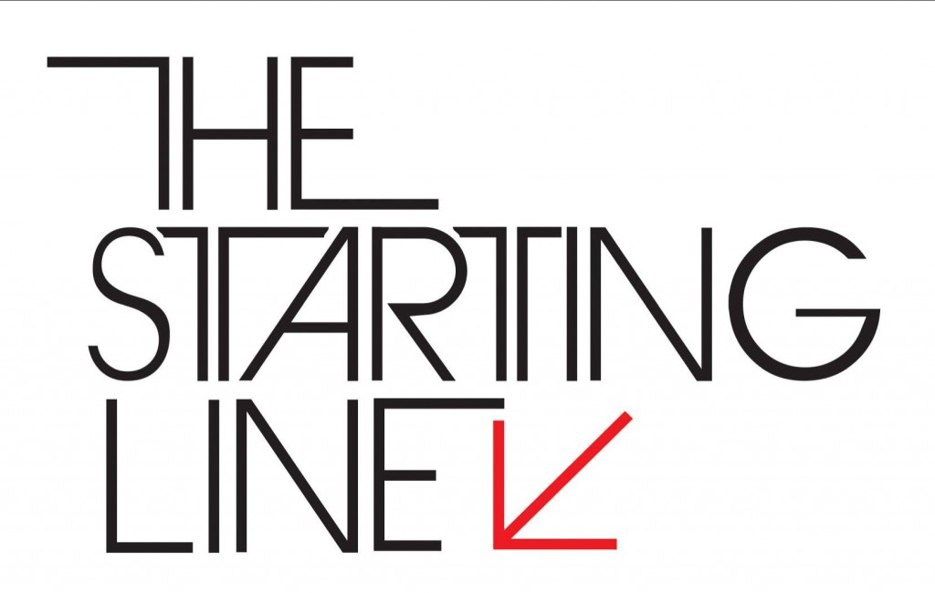 Aisya Blog: The Starting Line Logo