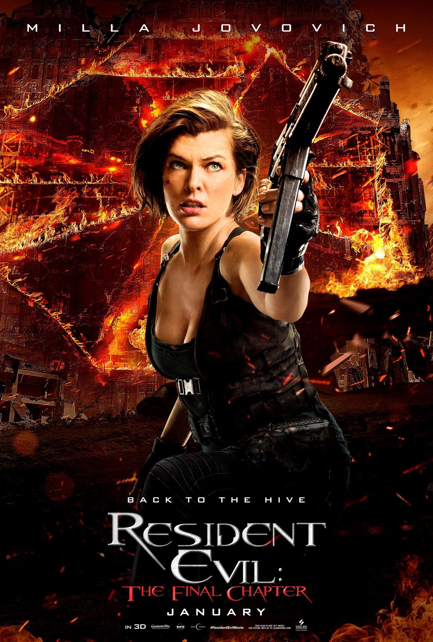 Resident Evil The Final Chapter Yup Definitely Evil To