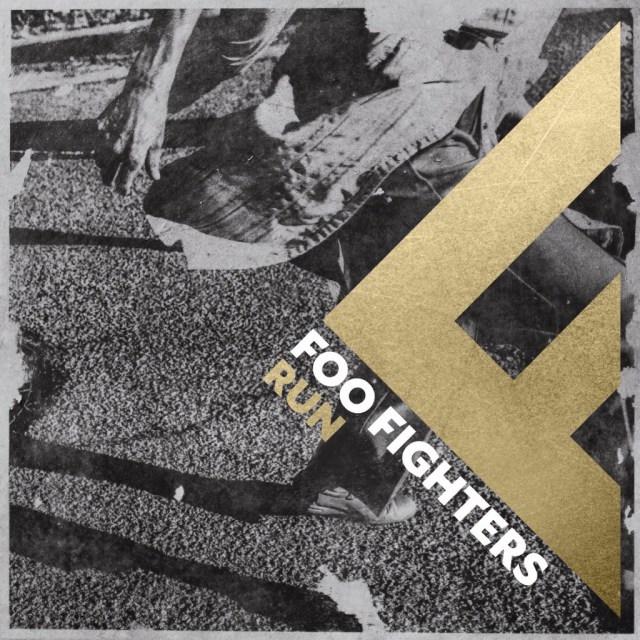 Foo Fighters Run Single Cover