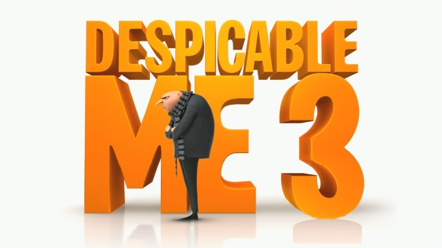 Despicable Me 3 Poster Wide