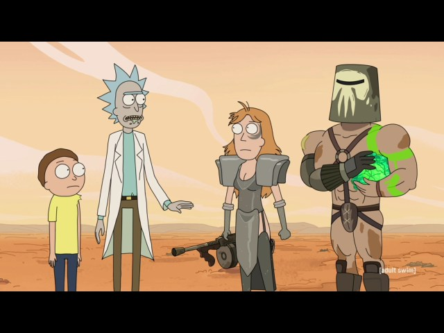 Rick and Morty Rickmancing the Stone