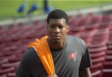 Jameis Winston in the new season of HBO's Hard Knocks: Tampa Bay Buccaneers