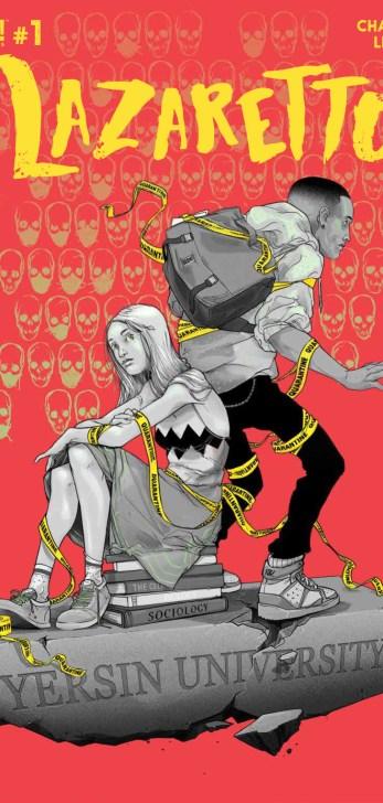 Lazaretto #1 Cover