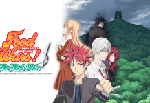 Food Wars Season 3 Poster