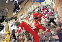 Go Go Power Rangers #4 Cover