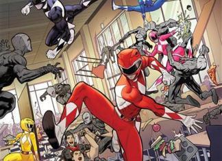Go Go Power Rangers #4 Cover