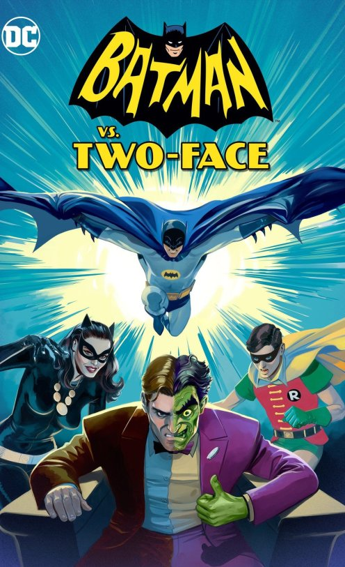 Batman vs Two Face Poster
