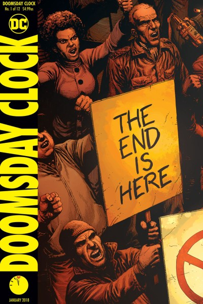 Doomsday Clock #1 Cover