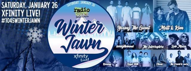 Young The Giant Matt Kim Lovelytheband Rock Radio 104 5 S Winter Jawn 2019