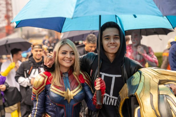 Marvel Cosplay Governor's Island Meetup: Captain Marvel