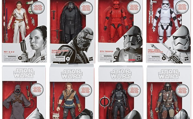 Triple Force Friday Star Wars The Black Series Figures