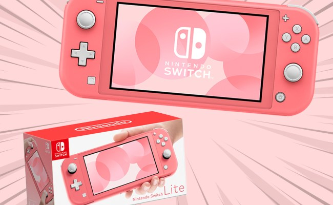 The Coral Nintendo Switch Lite Is The Perfect New Spring