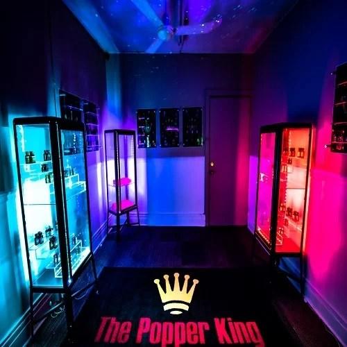 The Popper King - Supplier of Real ISO-BUTYL NITRITE POPPERS - 528 Elmwood Ave #3 Buffalo, NY 14222 - thepopperking.com - Banner 0104-1