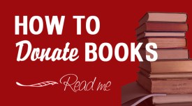 How to Donate Books