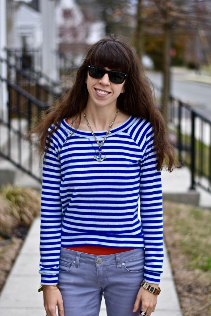 Spring Sweaters-Nautical