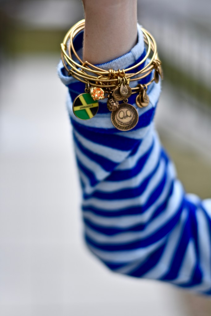 Springs Sweaters- Alex and Ani Tropical Bracelets