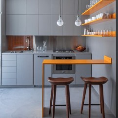 Kitchen Island Counter Whisk Electric 55 Great Ideas For Islands The Popular Home Create A Floating