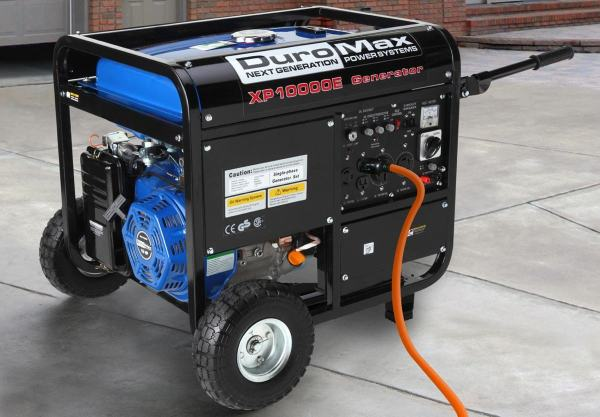Duromax Xp10000e Gas Powered Portable Generator - Popular Home