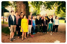 June - The Pop-Up Choir singing at Camberwell Arts Festival