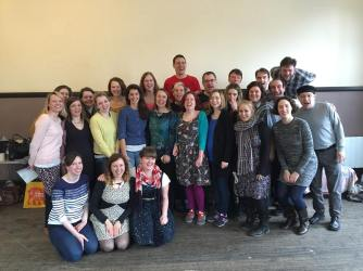 The Pop-Up Choir's spring workshop at the Union Chapel