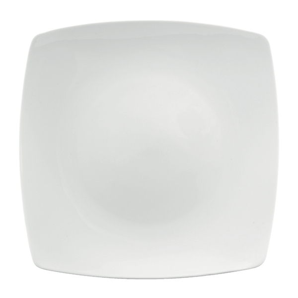 Ly's Horeca Square Flat China Plate by Minh Long