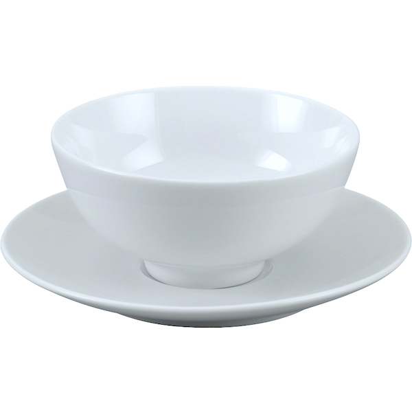 Ly's Horeca Rice Bowl and Saucer by Minh Long