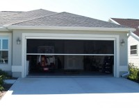 Retractable, Electric, Garage Door Screen - The Porch Factory