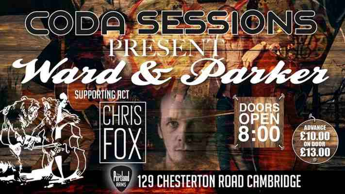 Coda Sessions -October: Chris Fox & WardnParker