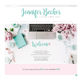 Jennifer Becker - Custom Website Design on WordPress Platform