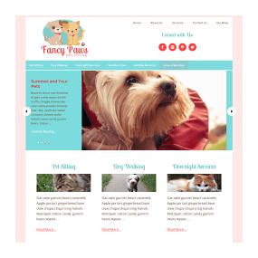 Semi-Custom Website Sample