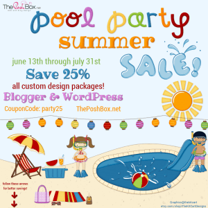 Pool Party Summer Sale 2015