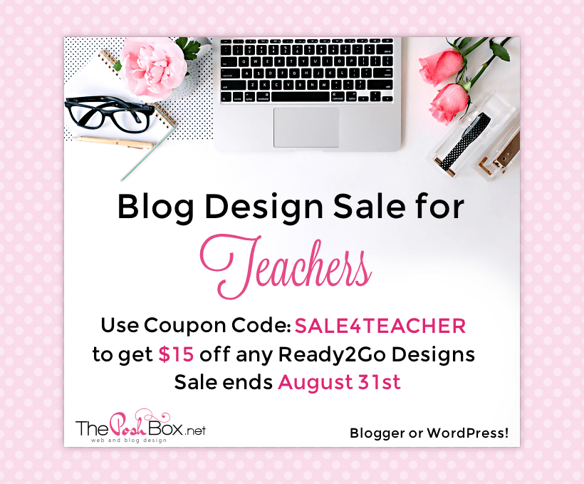 Teacher Sale