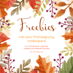 Fall and Thanksgiving Wallpaper Freebies - Small