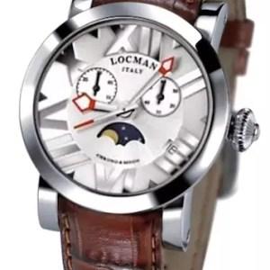 Locman Toscano watch 029400WHNNKCPSN - The Posh Watch Shop