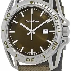 Calvin Klein Earth green watch - The Posh Watch Shop