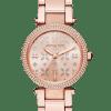Michael Kors Mini Parker watch MK6470 - The Posh Watch Shop