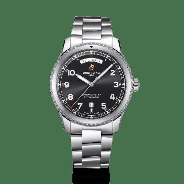 Breitling Aviator-8 watch A45330101B1A1 - The Posh Watch Shop