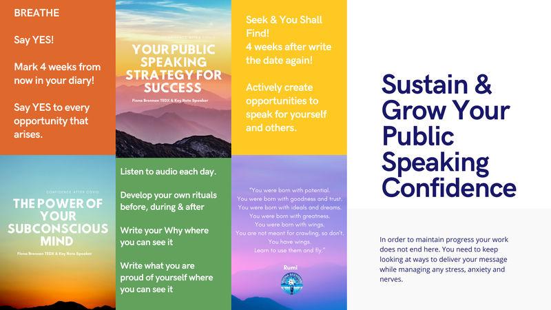 Public Speaking Workshops - Week 3
