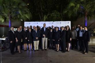 Colaboradores de Cuba con el Sr. Pedro Heilbron.