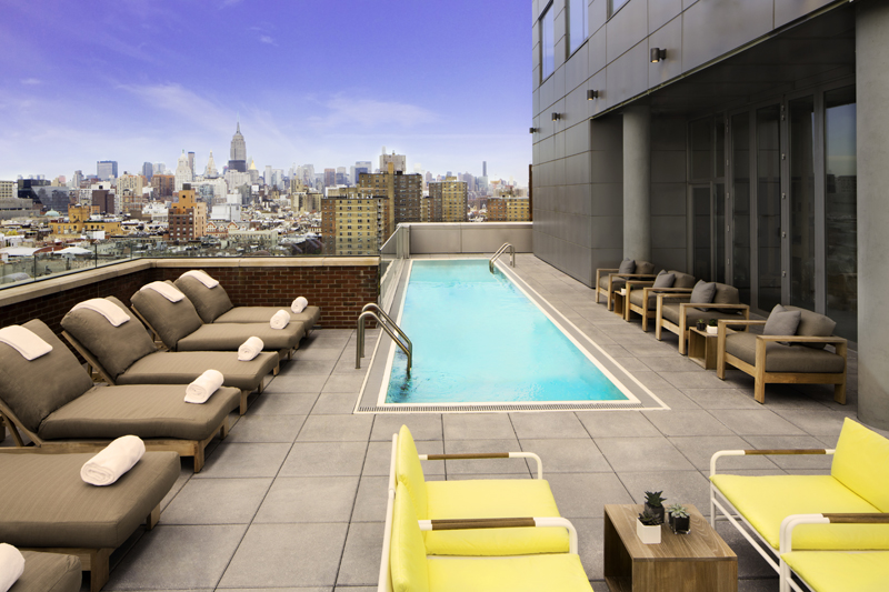 Hotel Indigo Lower East Side_Pool Deck