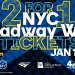 Los tickets para la Broadway Week ya están a la venta