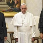 Macri con Francisco
