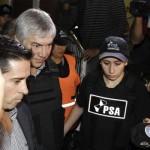 Báez detenido