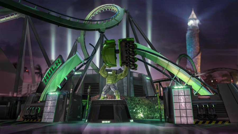 The Incredible Hulk Coaster 1_2