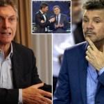 La historieta de Macri y Tinelli