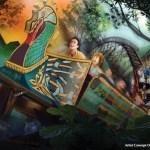 Nueva Montaña Rusa de Madera en Busch Gardens