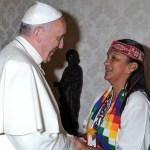 El Papa con los ladrones