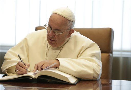 UN Pope Francis