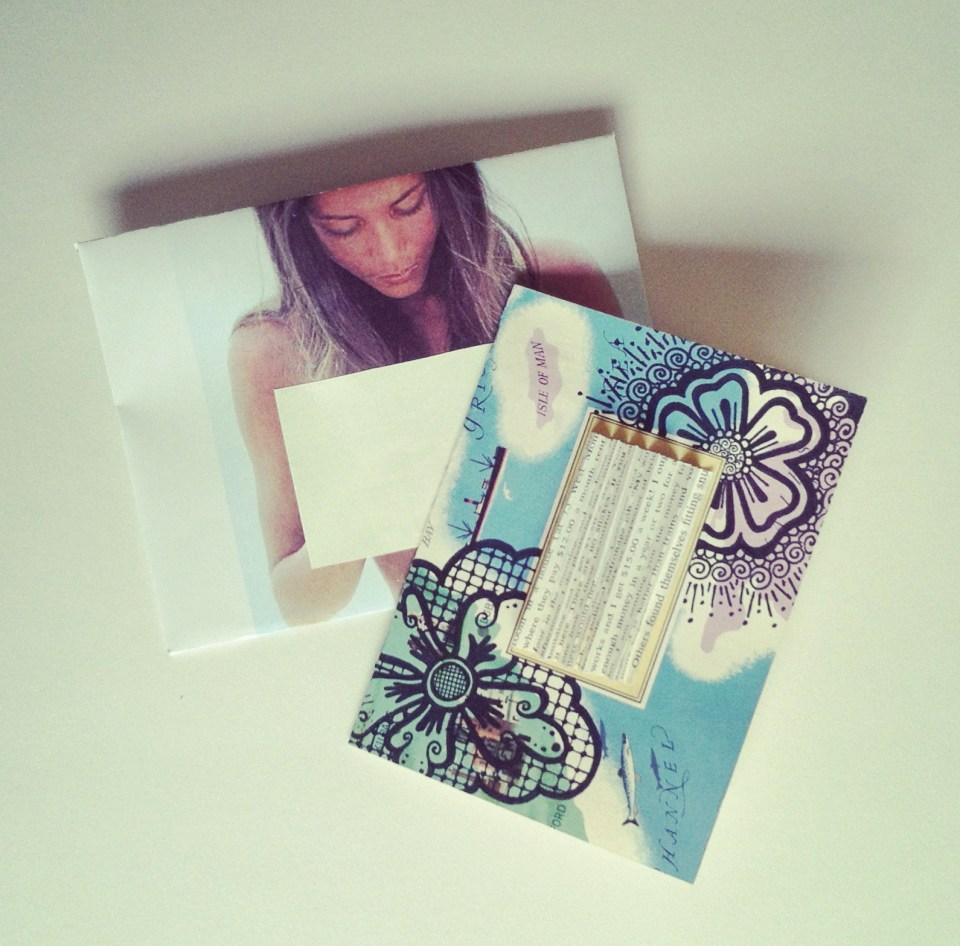 Handmade Henna Card | The Postman's Knock