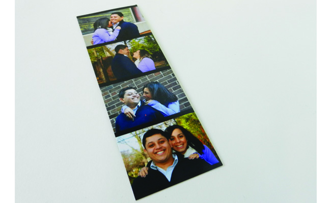 Back Save the Date Bookmark